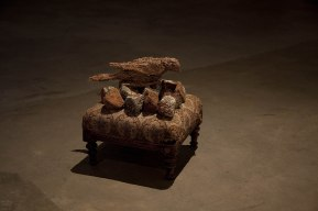 Naturally Disturbed, installation detail, SASA Gallery, 2010
