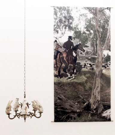 The Find, 2014, install detail. Art Gallery of South Australia collection